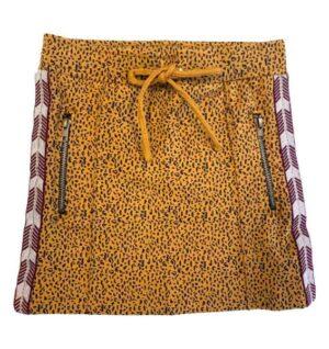 Topitm meisjes rok Annely leopard