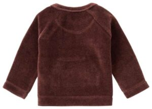 Noppies baby sweater Clocolan mahoganey