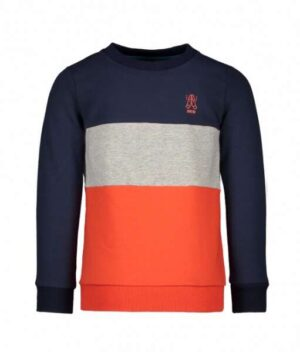 Bampidano jongens colour block sweater A008-6378