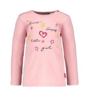 Bampidano baby meisjes longsleeve Brigit roze