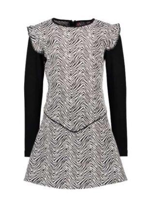 B.Nosy meisjes jurk Zebra print Y010-5800