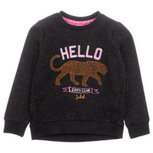 Jubel meisjes sweater zwart animal attitude 916.00267