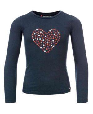 Looxs little meisjes t-shirt 2032-7465 blauw