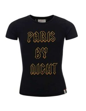 Looxs 10sixteen meisjes t-shirt zwart
