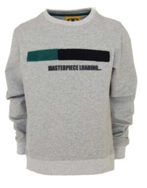 Topitm Mr T sweater Tom grey