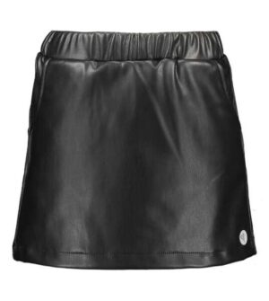 Moodstreet meisjes fake leather rok zwart M008-5765