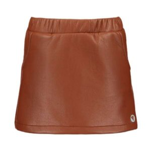 Moodstreet meisjes fake leather rok rust M008-5765