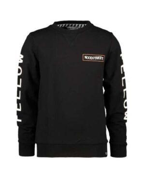 Moodstreet jongens sweater zwart M008-6379