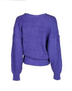 Ambika dames winkelvest violet one size
