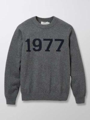 Cyrillus jongens trui met jacquard grijs