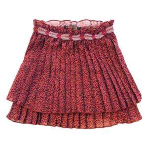 Topitm plissé rok Abby rood