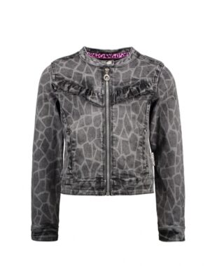 B.Nosy meisjes denim jacket giraffe Y009-5371