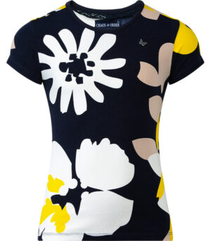 Chaos and Order t-shirt Roxy flower