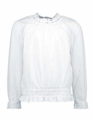 B.Nosy meisjes blouse sneeuw wit