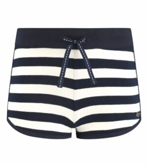 Chaos and Order shorts Sandy blauw-wit streep