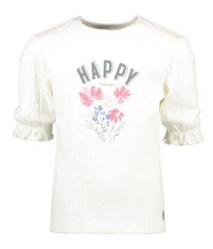 Moodstreet meisjes t-shirt wit M012-5403