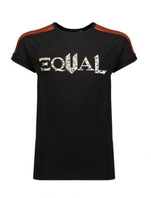 NoBell' meisjes t-shirt zwart