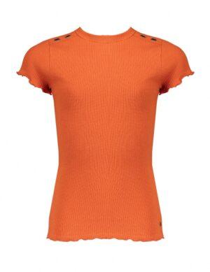 Nobell meisjes rib t-shirt ginger Kima