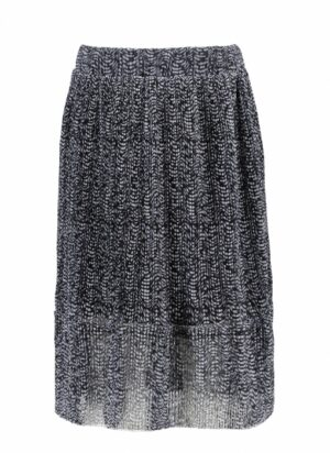 B.Nosy meisjes rok Y103-5760 plisse zwart-wit