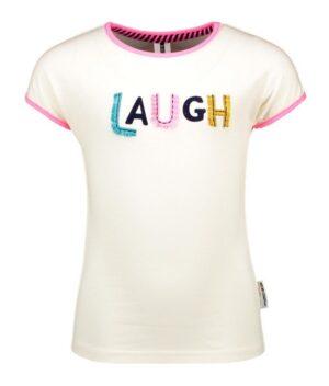 B.Nosy meisjes t-shirt off-white Y102-5441