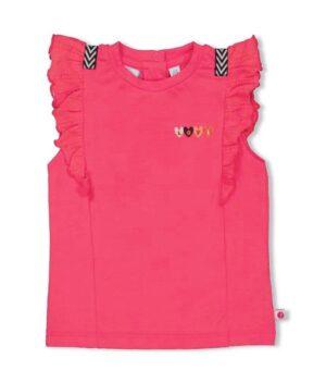 Feetje baby t-shirt 51700631 fuchsia roze