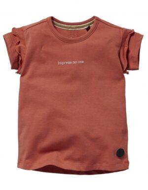 Levv meisjes t-shirt Nena steen rood S212