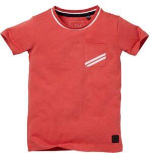 Levv jongens t-shirt Navaro rood