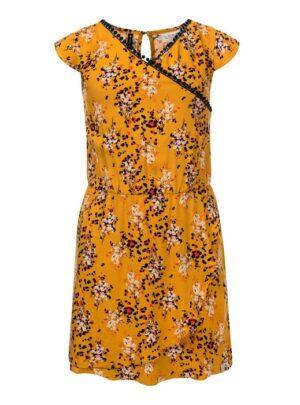 Looxs meisjes jurk 2112-5865 oker geel