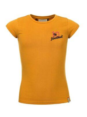 Looxs meisjes t-shirt 2112-5467 okergeel