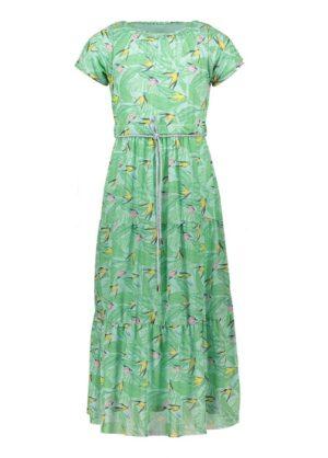 Nono meisjes jurk N103-5801 groen