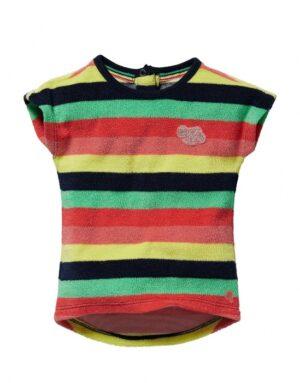 Quapi baby jurk Gisa multi color stripe