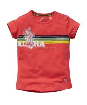 Quapi baby t-shirt Gracia koraal roze
