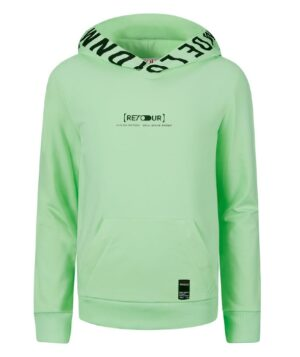 Retour jongens sweater Pepijn bright mint