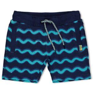 Sturdy jongens short 72100099 wave blauw