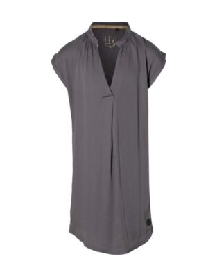 Levv meisjes jurk Mariska staal grijs