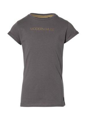 Levv meisjes t-shirt Marita staal grijs