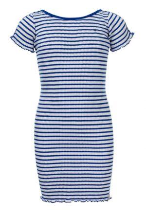 Looxs little jurk 2112-7854 blauw-wit streep