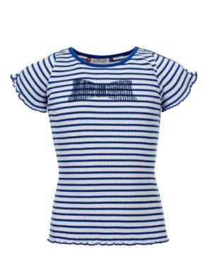 Looxs little t-shirt 2112-7454 blauw-wit streep