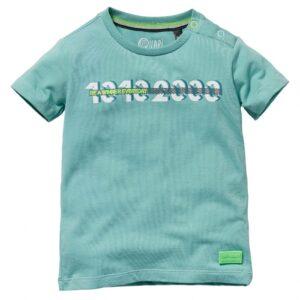 Quapi baby t-shirt Gauke steen groen