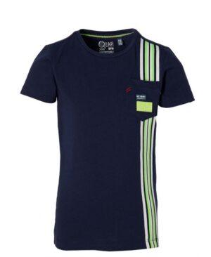 Quapi jongens t-shirt Fane blauw S213