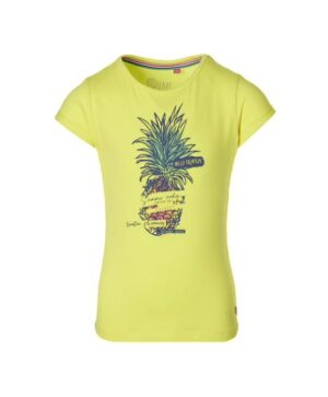 Quapi meisjes t-shirt Fauna geel S213