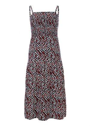 Looxs maxi jurk 2113-5873-680 zwart