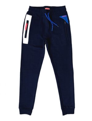 Mister T joggingbroek Thijs blauw