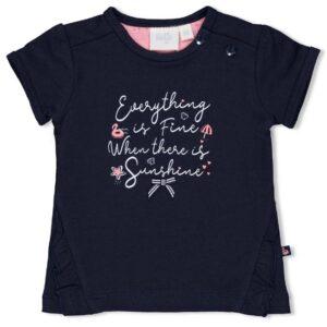 Feetje baby t-shirt 51700605 blauw
