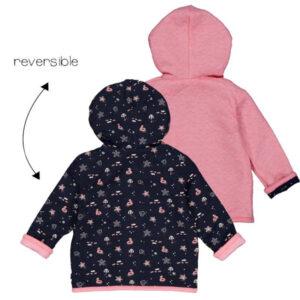 Feetje baby jasje 51800253 reversible blauw-roze