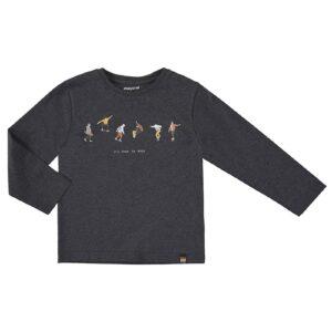 Mayoral jongens shirt 4074 grijs