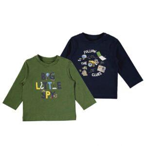 Mayoral set little spy baby 2 t-shirts