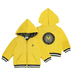 Mayoral baby sweatvest geel 2424