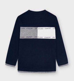 Mayoral jongens t-shirt 4091 navy