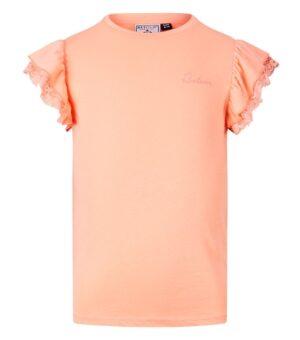 Retour meisjes t-shirt Hanna peach RJG-11-229